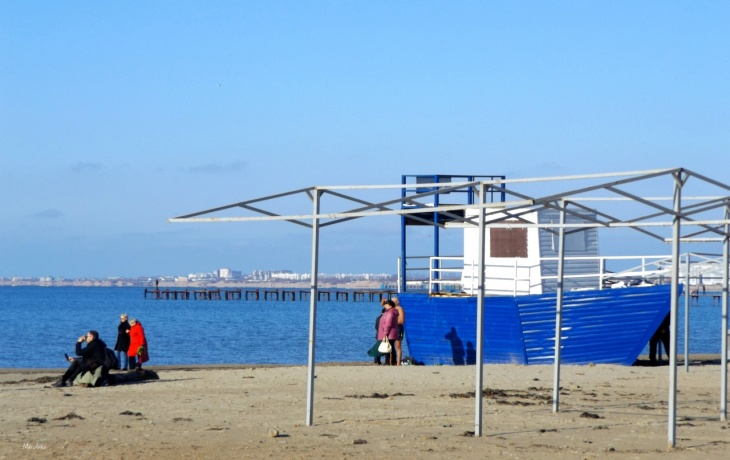 Черное море Анапы, 28 марта 2019 (фото)